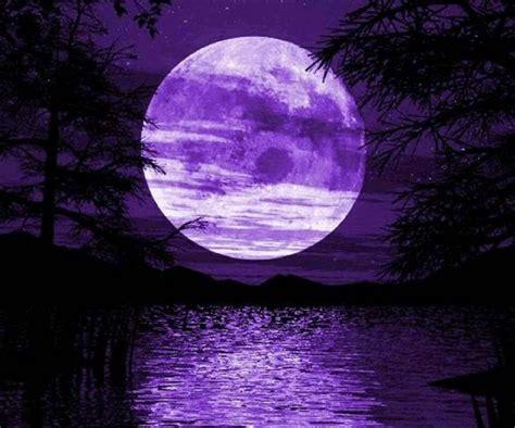 purple moon moonshine moon purple love beautiful moon