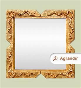 Petit Miroir Carré : petit miroir carr dor style napol on iii miroirs anciens ~ Teatrodelosmanantiales.com Idées de Décoration