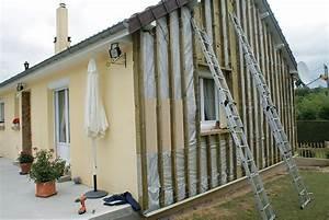 Isolation Mur Exterieur Bardage : bardage pvc maison photo easyclin pastel blanche bardage ~ Premium-room.com Idées de Décoration