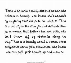 Quotes About Be... Inner Beauty Confidence Quotes
