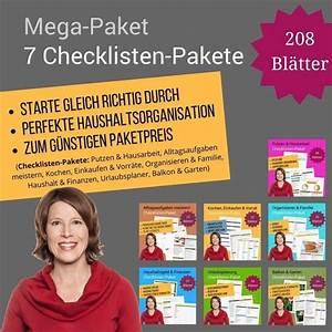 Haushalt Organisieren Checkliste : checklisten jetzt im shop entdecken und downloaden shopping ~ Markanthonyermac.com Haus und Dekorationen