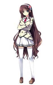 Anime School Girl Uniform
