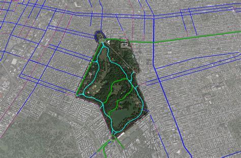 prospect park bike map nyc bike maps