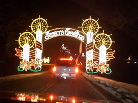 travel nc with kids tanglewood festival of lights