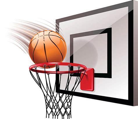 basketball hoop illustrations royalty  vector