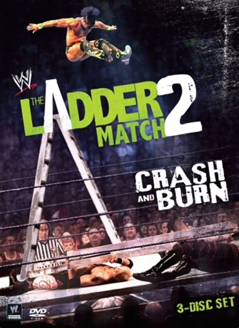 wwe  ladder match  crash burn dvd review