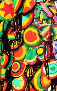 Jamaican Colors / Hats Jamaica Stock Image