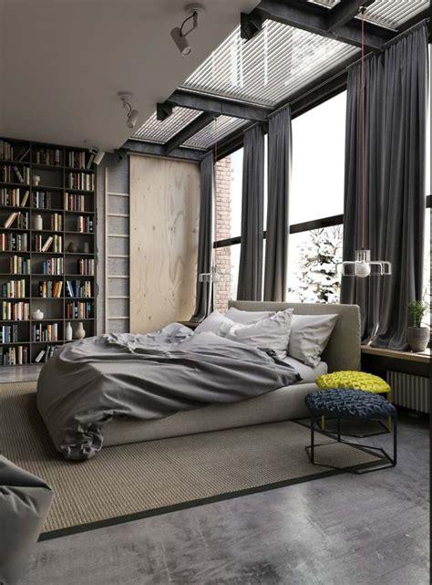 chambre style usine idée déco chambre style industriel