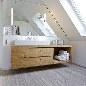 Waschtisch Für Aufsatzwaschbecken Aus Holz : waschtisch holz modern ~ Michelbontemps.com Haus und Dekorationen