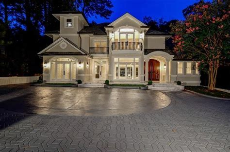 $m Buckhead Manse Has Ridiculous Indoor Party Zone