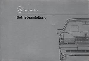 Mercedes Benz 190 Type 201 Operating Instructions 1990