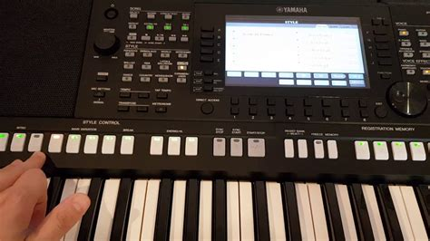 yamaha psr s775 yamaha psr s775 plus styles and voices