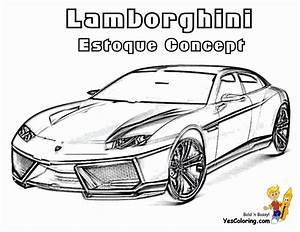 Lamborghini Police Car Chase
