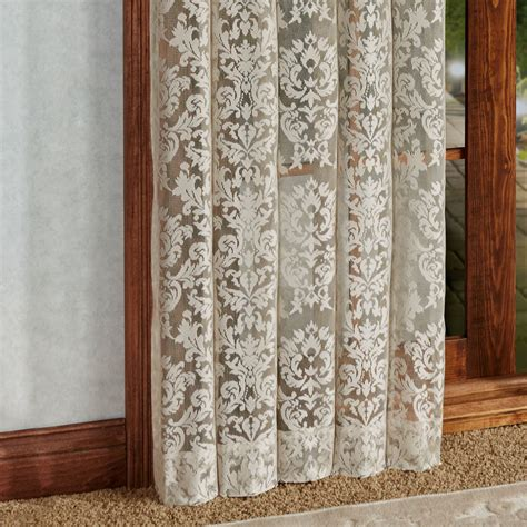 Lace Drapery Panels by Astor Lace Window Treatment