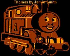 Thomas train stencil thomas the tank engine my son is for Thomas pumpkin template