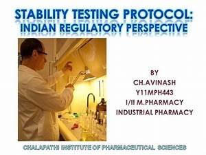 Stability Testing Protocol