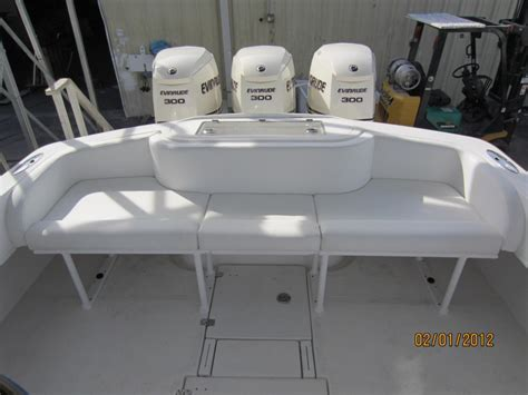 Custom Boat Seating Bench by Dusky Custom Boat Seating Gds Canvas And Upholstery