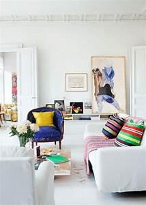 Weiße Möbel Wohnzimmer : sch nes wohnzimmer einrichten ideen farbige akzente wei e m bel wohnzimmer ideen pinterest ~ Orissabook.com Haus und Dekorationen