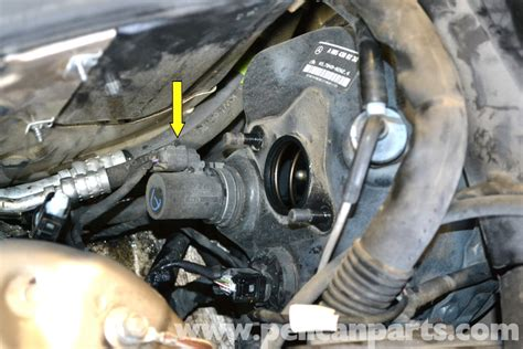mercedes benz  brake booster diaphragm positioning