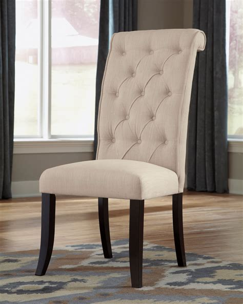 tripton dining upholstered side chair set    ashley