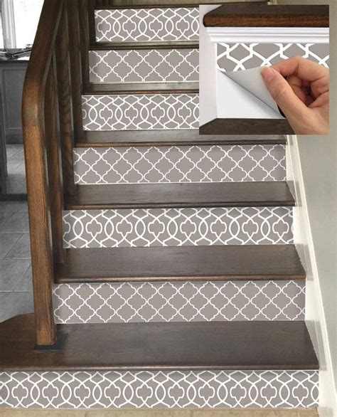 Removable Stair Riser Vinyl Decal by 15steps Stair Riser Vinyl Strips Removable Sticker By