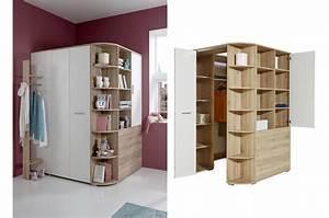 Meuble D Angle Chambre : armoire d 39 angle de chambre coucher enfant novomeuble ~ Teatrodelosmanantiales.com Idées de Décoration