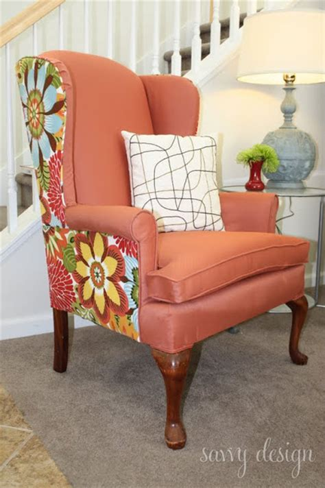 Reupholstering Fabric by Remodelaholic Wingback Chair Reupholstering Tutorial