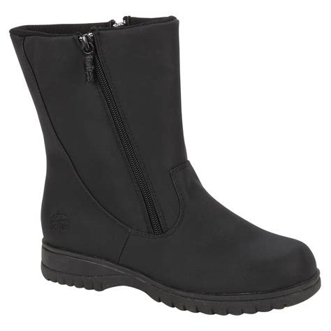 Totes Women's Weather Boot Rosie 2 Wide Width   Black