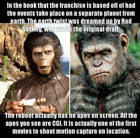 Planet Of The Apes Meme - the planet of the apes franchise 1968 meme by iamgroot memedroid