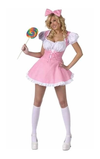 Doll Adult Costume Dolls Costumes Halloween Pink