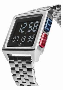 Adidas Archive watch M1, Silver / Black / Blue / Red ...