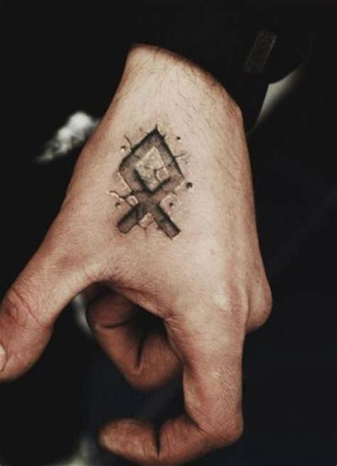 The 25+ Best Rune Tattoo Ideas On Pinterest  Viking Rune