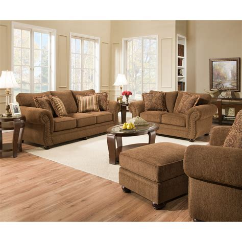 Simmons Upholstery Outback Sofa Set  Sofas & Loveseats At