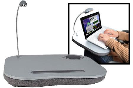 manicure lap desk with light 5 in 1 lap desk with light