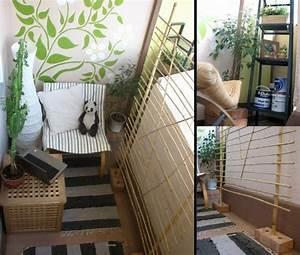 cooler kleiner balkon 40 kreative und praktische ideen With balkon teppich mit schimmelspray auf tapete