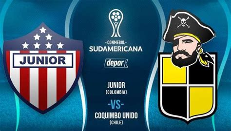 Junior vs. Coquimbo Unido EN VIVO y EN DIRECTO por cuartos ...