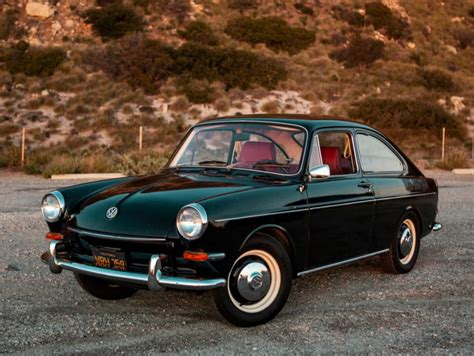 Black-plate 1967 Volkswagen Type 3 Fastback For Sale On