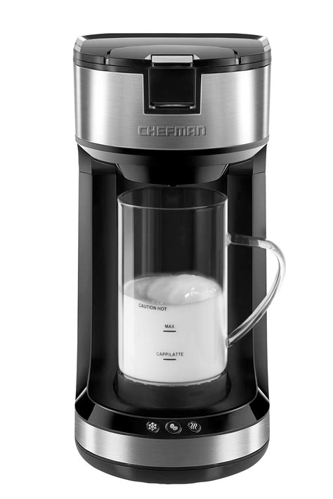 With the best cold brew coffee maker, you can create coffee concentrate that can then be used to we considered 18 of the top cold brew coffee makers on the market today to find the very best. Chefman Froth and Brew Single Serve Coffee Maker - Chefman.com