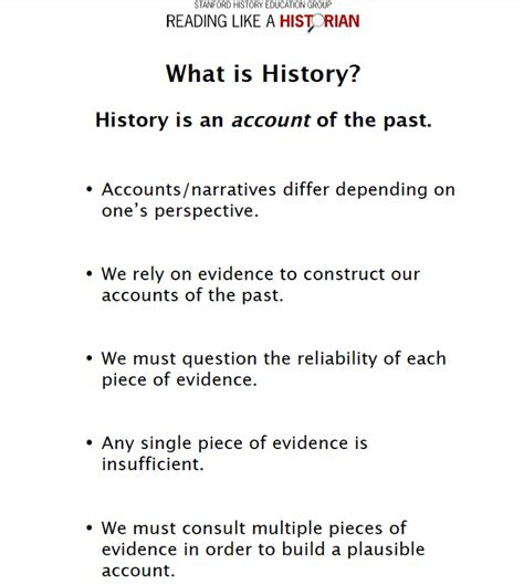 historical thinking reading  writing  peters