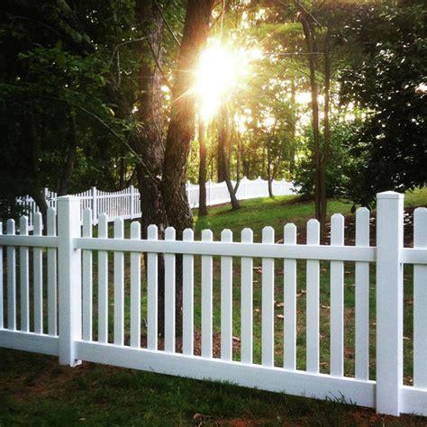 vinyl fencing decorative fence silverbell scallop
