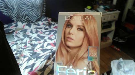 Feria Rose Gold Hair Dye Review