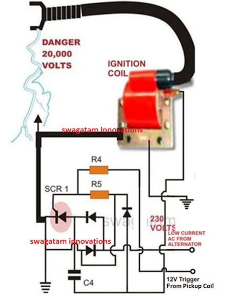 How Make Capacitive Discharge Ignition Cdi Circuit