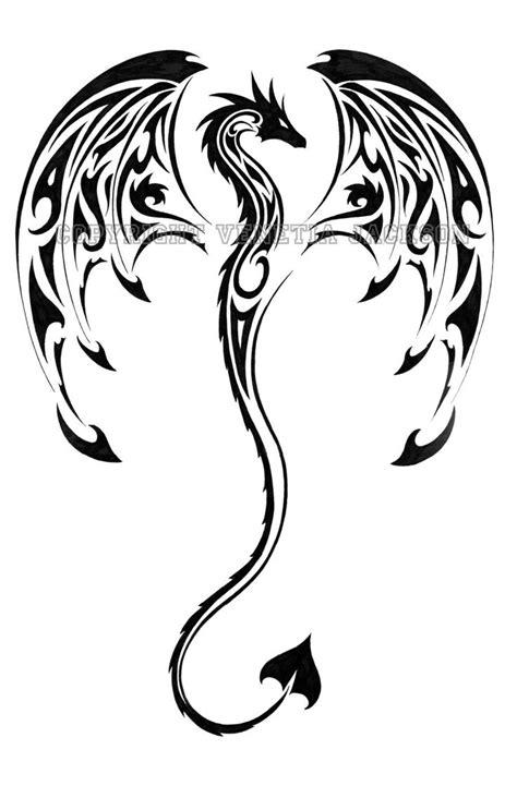 Awesome Tribal Dragon Tattoo Designs - Yo Tattoo
