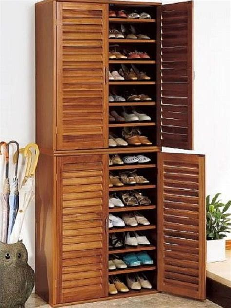 Shoes Cupboard by Shoe Storage Cupboard Woodworking Projects Plans