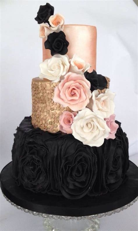 25 Chic Blush and Black Wedding Ideas Page 3 Hi Miss Puff