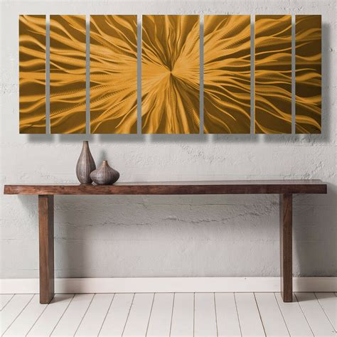 modern contemporary abstract metal wall art sculpture painting home decor copper ebay