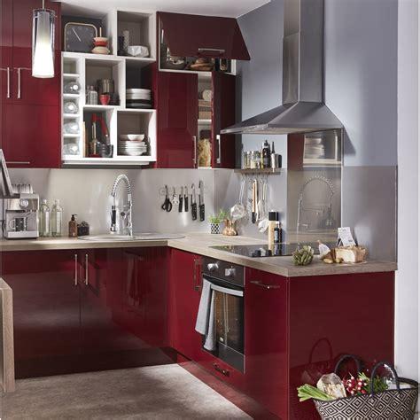 but meuble de cuisine meuble de cuisine delinia griotte leroy merlin