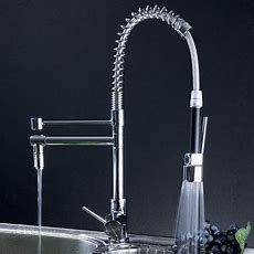 Professional Kitchen Pull Out Spray Shower Valve Tap 0323f