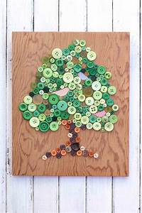 Button, Tree, Art, Earth, Day, Craft
