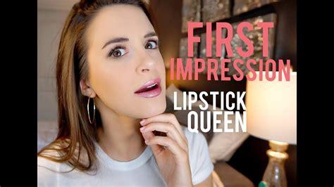 impression lipstick queen youtube